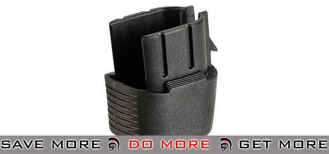 PTS Grip Extension for PDR-C Series Airsoft AEG Rifles - Black Motor / Hand Grips- ModernAirsoft.com