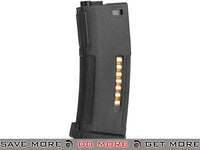 PTS 150rd Mid-Cap Enhanced Polymer Magazine (EPM) for M4 / M16 Series Airsoft AEG Rifles - Black Electric Gun Magazine- ModernAirsoft.com