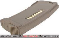 PTS 150rd Mid-Cap Enhanced Polymer Magazine (EPM) for M4 / M16 Series Airsoft AEG Rifles - Dark Earth Electric Gun Magazine- ModernAirsoft.com