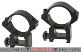 AIM Sports 30mm Medium Height Weaver/Picatinny Scope Rings Scope Rings- ModernAirsoft.com