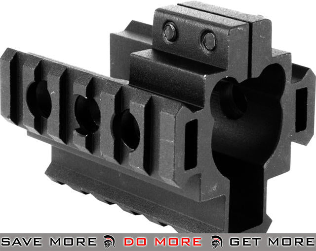 Real Steel Grade AR-15 M4 M16 Tactical Tri-Rail Barrel Mount *Shop by Gun Models- ModernAirsoft.com