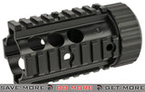 "A&K 4"" Stubby Free Float Railed Handguard for M4/M16 Airsoft AEG Rifles RIS / RAS / Rails- ModernAirsoft.com"