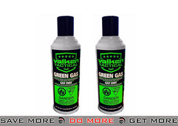 2 Valken Green Gas Cans for GBB's - Modern Airsoft