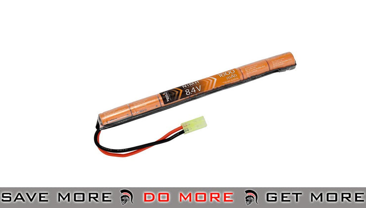 Lancer Tactical 8.4V 1600mAh 7 Cell Stick Battery BBs, Batteries, Gas- ModernAirsoft.com