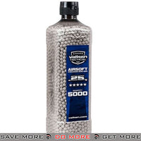 Valken Tactical Precision 0.25g 6mm Airsoft BBs - White (QTY: 1 Bottle / 5,000 Rounds) 0.23g & 0.25g BBs- ModernAirsoft.com