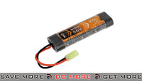 Lancer Tactical 9.6V 1600mAh 8 Cell NiMH Flat Stick Battery BBs, Batteries, Gas- ModernAirsoft.com
