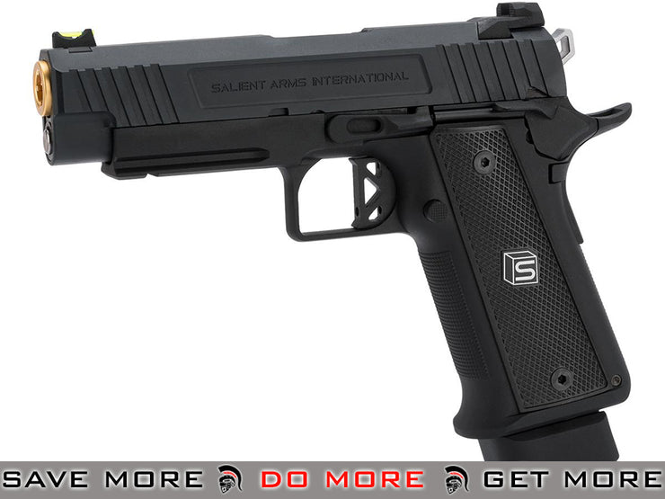 EMG Salient Arms International 4.3 2011 DS Airsoft Training Gas Blowback GBB Pistol Gas Blowback Pistol- ModernAirsoft.com