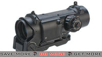 G&G ELCAN Spectre DR Style 4x Optical Sight w/ Illuminated Reticle - Black Scopes- ModernAirsoft.com