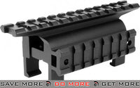AIM  High Profile Claw Scope Scope Mount Base with Side Rail for MP5 / G3 Scope Mount Base- ModernAirsoft.com