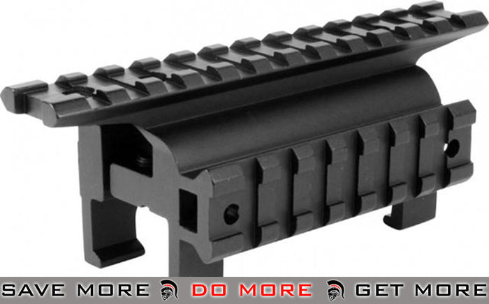 AIM  High Profile Claw Scope Scope Mount Base with Side Rail for MP5 / G3