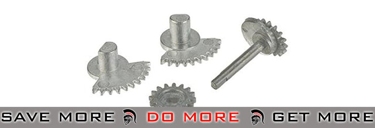 Metal Selector Gear for ASC / SCAR Airsoft AEG Rifle by AGM Selector Switch- ModernAirsoft.com