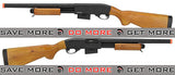 A&K Full Metal M870 Type 400 FPS Airsoft Training Shotgun (Long Version / Real Wood) Airsoft Shotguns- ModernAirsoft.com