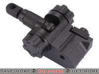 Special Force Full Metal 600m Rear Flip-up Airsoft Folding Weaver Sight iron sights- ModernAirsoft.com