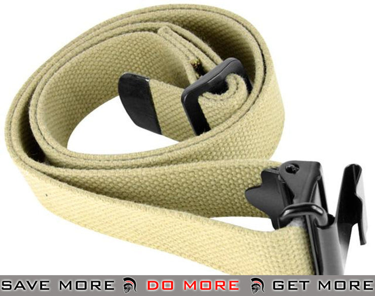 AIM Sports Tan M1 Garand and AK Type Rifle Sling Slings- ModernAirsoft.com