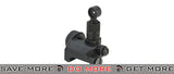 Matrix DMR / SR-25 Type 600m Full Metal Flip-Up Rear Sight for Airsoft AEG Rifles iron sights- ModernAirsoft.com