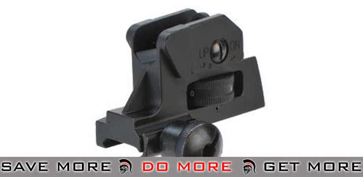 AIM Sports Detachable Rear Sight for AR15 / M16 iron sights- ModernAirsoft.com