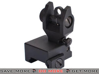AIM Real Steel AR Low Profile Rear Iron Sight iron sights- ModernAirsoft.com