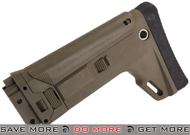 Replacement Stock Assembly for A&K Masada ACR - Tan Stocks- ModernAirsoft.com