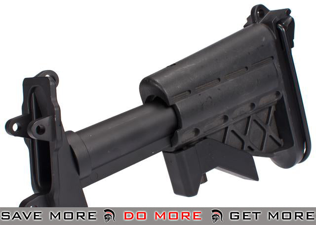 Matrix Mk46 5-Position Retractable Stock for M249 / Mk46 / Mk43 Series Airsoft Machine Guns Conversion Kits- ModernAirsoft.com