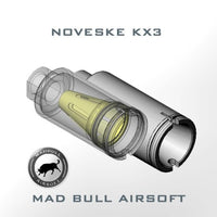Madbull Noveske KX3 Adjustable Amplifier (OD Green / CCW)