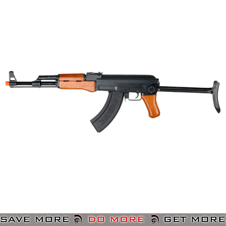 CYMA Metal AK47-S Airsoft AEG Rifle with Folding Stock