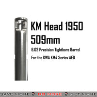 KM Head 1950 Precision AEG 6.02mm Tightbore Inner Barrel - 509mm KWA KSC Parts- ModernAirsoft.com
