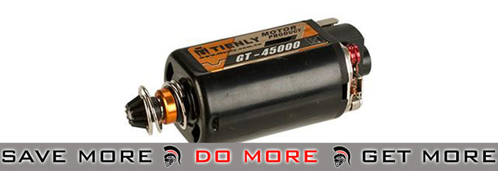 Infinity GT High Torque, High Speed Performance 45,000 RPM Motor by 6mmProShop  - Short