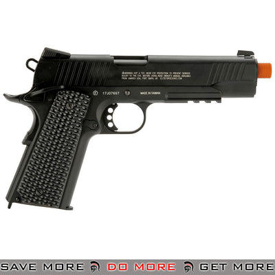 Elite Force 1911 Tactical Gen 3 CO2 Full Metal Airsoft Gas Blowback Pistol by Umarex / KWC [2279555] - Black