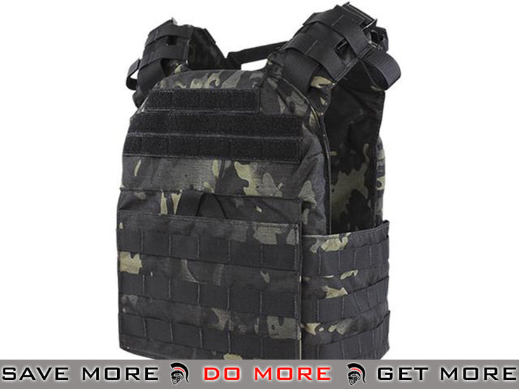 Condor Multicam Black Cyclone Lightweight Plate Carrier Multicam- ModernAirsoft.com