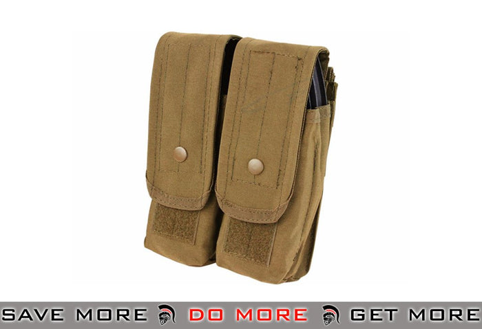Condor Tactical Double AK47 / 7.62 Magazine Pouch - Color: Coyote Brown