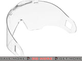 ANSI Rated Annex Single Clear Lens for Airsoft Paintball Full Face Masks by Valken Head - Masks (Full)- ModernAirsoft.com