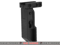 Valken V-Tactical Polymer Folding Grip (Color: Black) Vertical Grips- ModernAirsoft.com