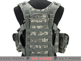 Lancer Tactical High Speed M4/M16 Chest Rig (ACU) Chest Rigs & Harnesses- ModernAirsoft.com