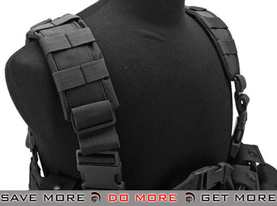 Lancer Tactical High Speed M4/M16 Chest Rig (Black) Chest Rigs & Harnesses- ModernAirsoft.com