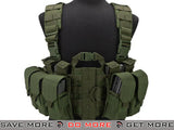 Lancer Tactical High Speed M4/M16 Chest Rig (OD Green) Chest Rigs & Harnesses- ModernAirsoft.com
