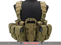 Lancer Tactical High Speed M4/M16 Chest Rig (Tan) Chest Rigs & Harnesses- ModernAirsoft.com