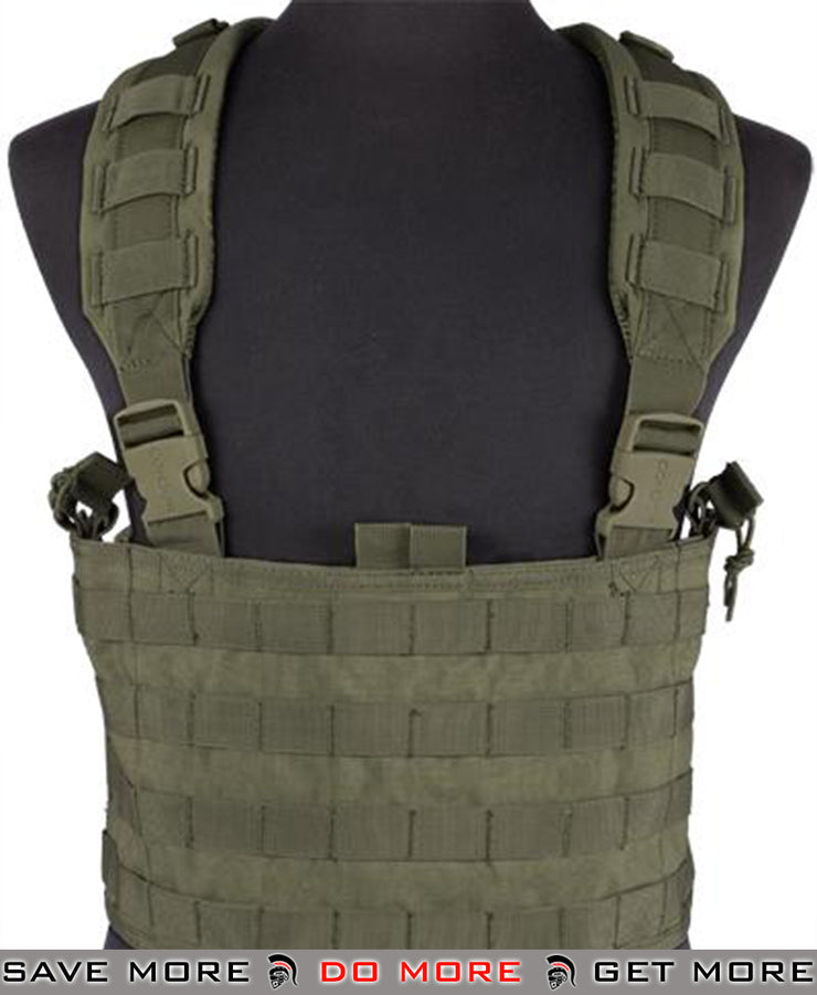 Condor OD Green Gen.4 Tactical MOLLE OPS Chest Rig Chest Rigs & Harnesses- ModernAirsoft.com