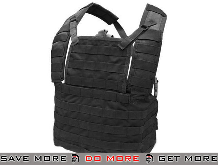 Condor Black Tactical Modular Chest Rig Type I MCR1 Chest Rigs & Harnesses- ModernAirsoft.com