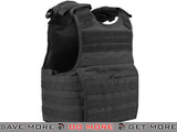 Condor Medium Black Exo Plate Carrier Black- ModernAirsoft.com