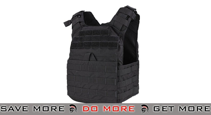 Condor Cyclone Lightweight Plate Carrier (Black) plate carrier- ModernAirsoft.com