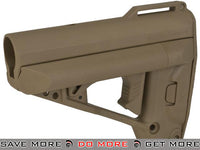 VFC Quick Response System (QRS) Stock for M4 / M16 / AR15 Style Airsoft Rifles (Color: Tan) Stocks- ModernAirsoft.com