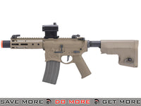 "EMG / Sharps Bros ""Warthog"" Licensed Full Metal Advanced Airsoft AEG Rifle (Color: Tan / 7"" SBR) Airsoft Electric Gun- ModernAirsoft.com"