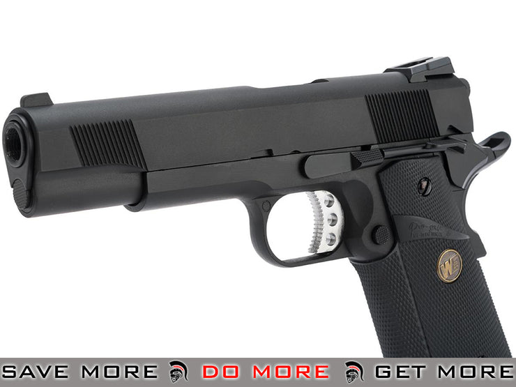 WE-Tech Full Metal 1911 MEU Railed Heavy Weight Airsoft Gas Blowback Pistol (Color: Black) WE / CQB Master- ModernAirsoft.com