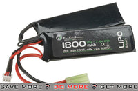 WE-Tech 7.4V 20C 1800mAh LiPo Battery (Butterfly Type) LiPoly / Lithium Cell Batteries- ModernAirsoft.com