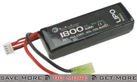 WE-Tech 11.1V 20C 1800mAh Li-Ion Battery (Brick Type) LiPoly / Lithium Cell Batteries- ModernAirsoft.com