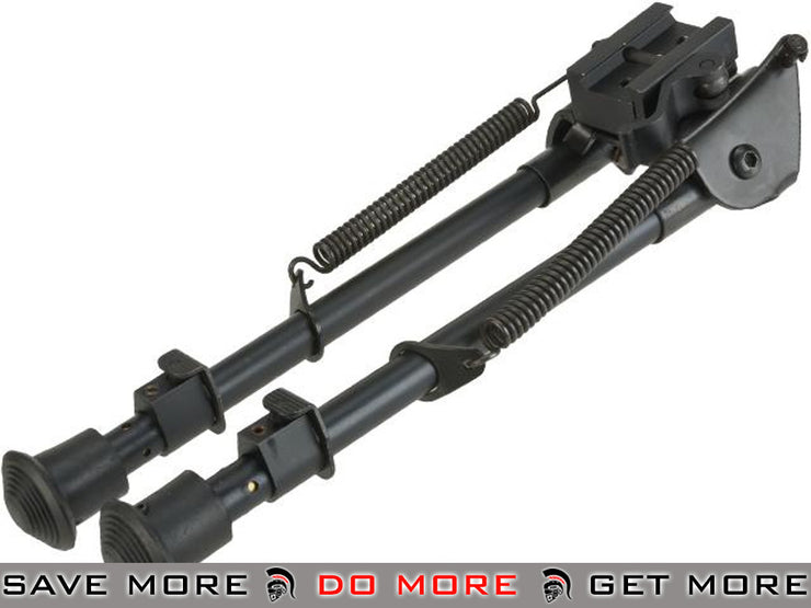 AIM Sports  Retractable Harris Style Bipod / All-Platform Real Firearm Spec. / Tall Bipods- ModernAirsoft.com
