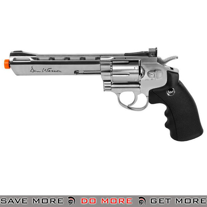 Dan Wesson 715 Grey CO2 Powered Airsoft Revolver (Low Power Version) 6