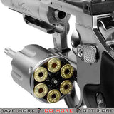 "Dan Wesson CO2 Powered .177 Pellet Revolver with 6"" Revolver - Silver"