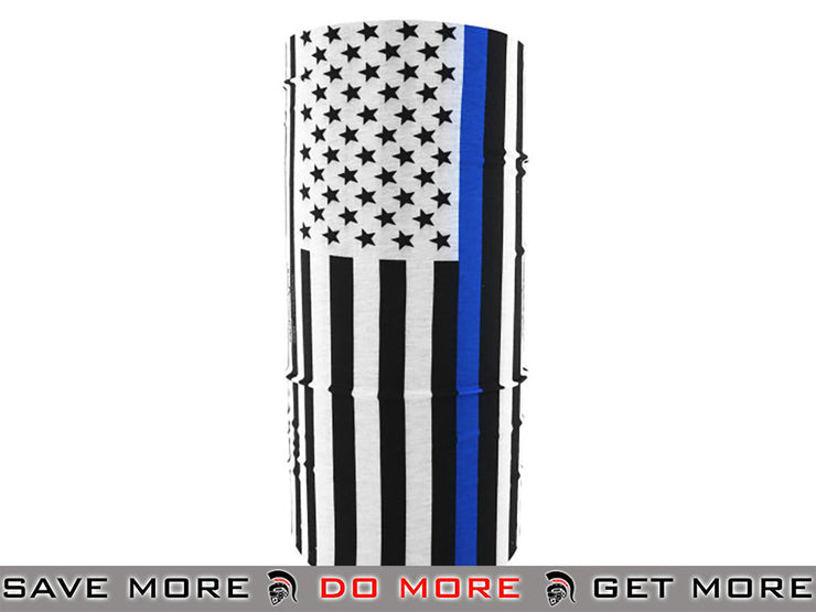 Bobster / Zan Headgear Motley Tube® Neck Protector - Color: Thin Blue Line