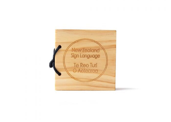 New Zealand Sign Language Book - Bilingual Edition